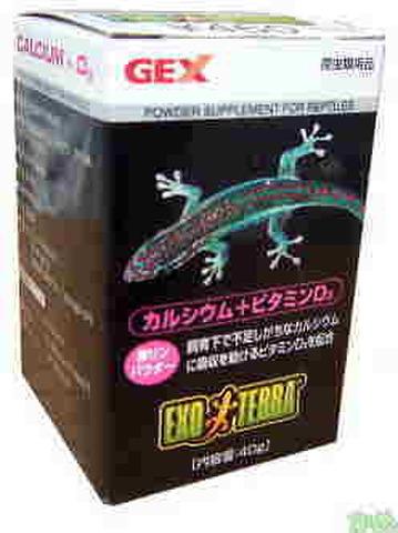 GEX カルシウム+ビタミンD3 40g