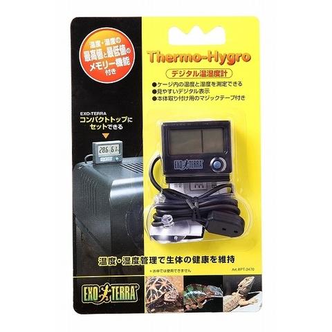 【お取り寄せ】ジェックスデジタル温湿度計 PT2470