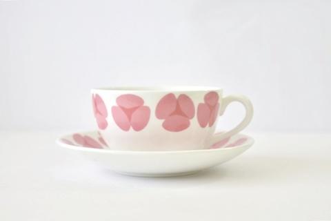Gustavsberg グスタフスベリ / Rosa ローサ / カップ&ソーサ #01