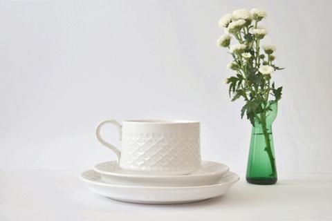 B&G/ Cordial /コーディアル/ホワイト トリオセット