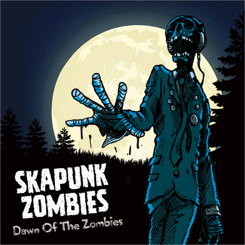 SKA PUNK ZOMBIES CD Dawn Of The Zombies