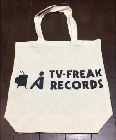 TV-FREAK エコバッグ ロゴ(ワイド)