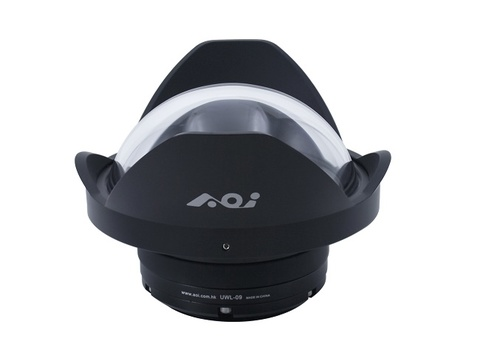 水中ワイドアングルコンバージョンレンズ:UWL-400A