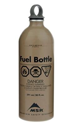 MSR Fuel Bottle Military  20oz