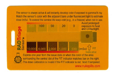 Personal Radiation Detector