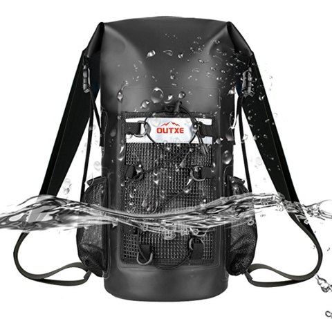 OUTXE 100% Waterproof Dry Bag Backpack 防水バックパック