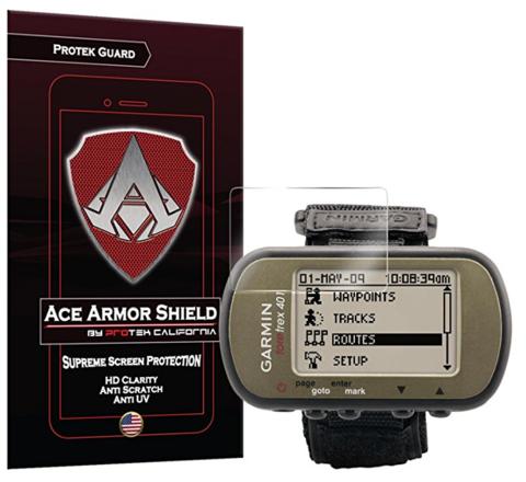 Ace Armor Shield ProTek Guard Screen Protector for theGarmin ForeTrex 401