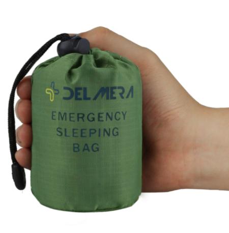 Delmera Emergency Survival Sleeping Bag, Lightweight Waterproof Thermal Emergency Blanket