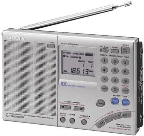 Sony ICF-SW7600GR AM/FM 短波 Radio