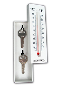 Decoy Thermometer with Key Storage