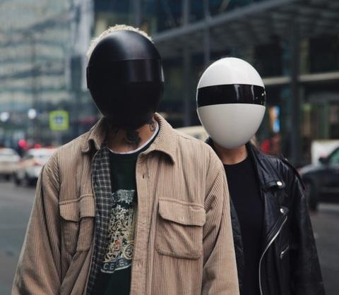 HEPAフィルター内蔵フェイスマスク「BLANC」