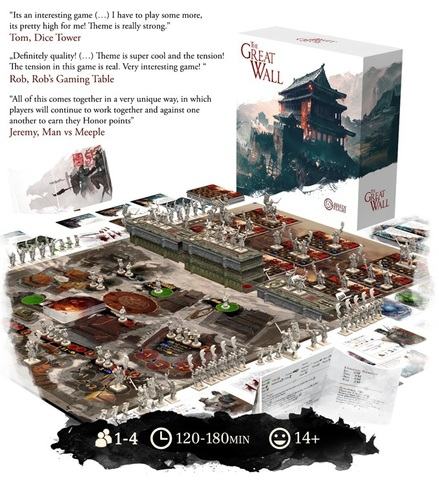 ボードゲーム「Great Wall Board Game」