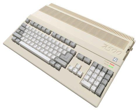 名機ミニ版レトロパソコン「Amiga500Mini」