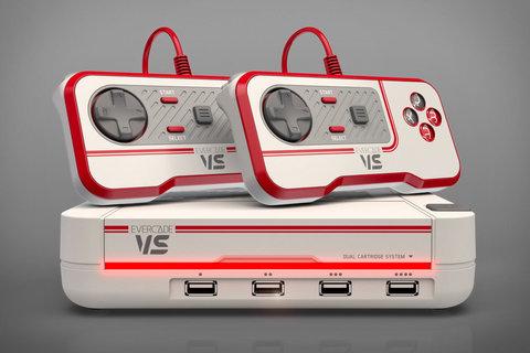 公認家庭用据え置き型レトロゲーム機「EvercadeVS」