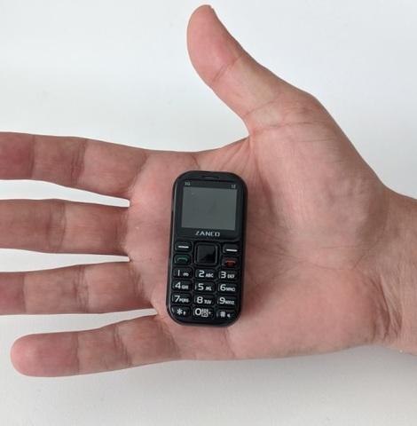 異常に小さい携帯電話「Zanco tiny t2」