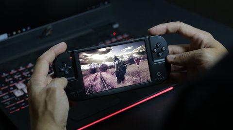 携帯ゲーム機「Creoqode LYRA」