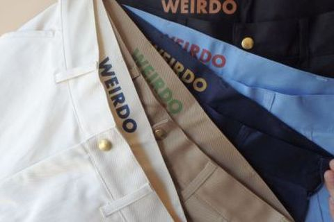 weirdo 18SS13 W&L_UP_SHORTS