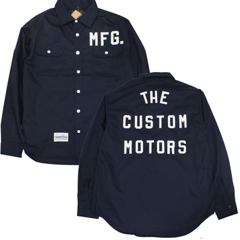 SHOWTECH 19SS11 TheCustomMotors WorkShirts TYPEⅠ