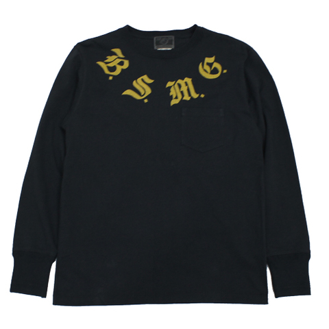 BSMG 19SS13 B LETTERS-L/S T-SHIRTS 7900