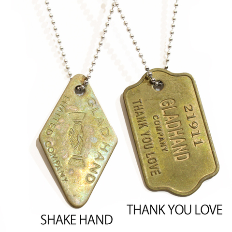 GLAD HAND & Co. TAG NECKLACE