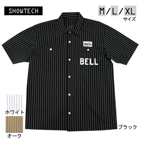 SHOWTECH 21SS03 65poly ツイル WORK SHIRTS