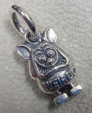 weirdo jewelry WP003FINK-TOP SILVER