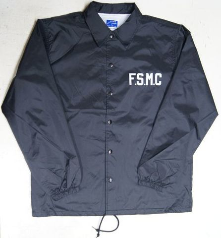 DR20AW15 FREESTYLE M.C.×WENDY COACH JACKET BLK