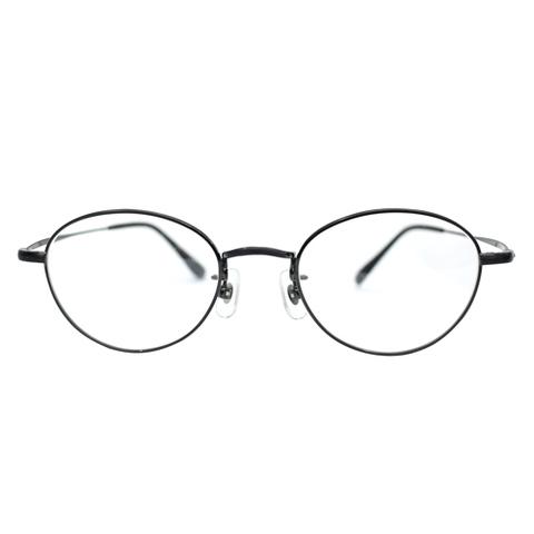 ORGUEIL OR-7163B RoundMetal Glasse Clear