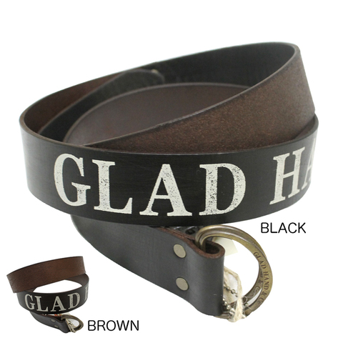GLAD HAND DOUBLE_RING BELT LEATHER
