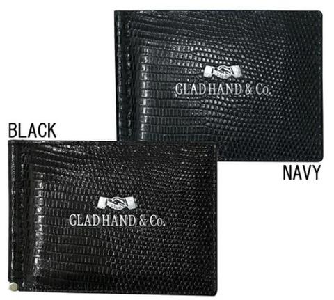 gladhand SPEAKEASY MONEY CLIP WALLET LIZARD