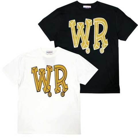 weirdo 20ss33 BIG W.R._S/S T_SHIRTS