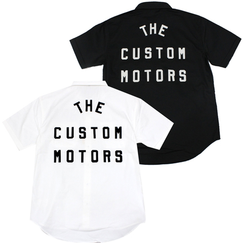 SHOWTECH 21SS02 TheCustomMotors S/S WorkShirts