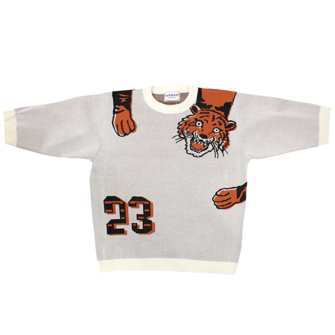 weirdo 20SS20 RINGING TIGER_H/S KNIT SWEATER
