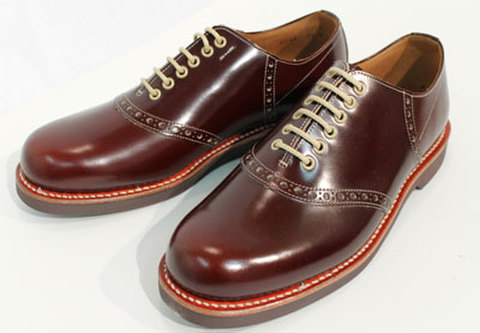 GLAD HAND×REGAL SADDLE SHOES BROWN
