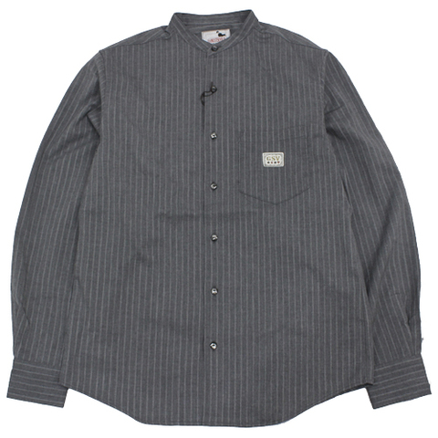 GANGSTERVILLE 20AW19 SHARPER_L/S STAND COLLAR SHIRTS