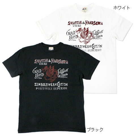 GLADHAND FULLCOUNT DRAGON_S/S T_SHIRTS