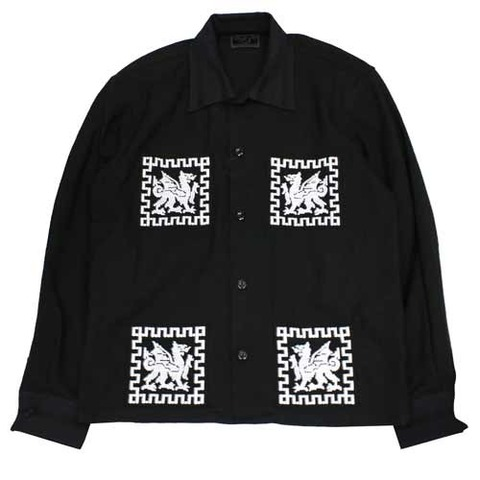 SALE! 40%BSMG 19SS05 DRAGON GUATEMALA L/S SHIRTS 28000