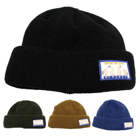 WEIRDO 20AWG04 SPICE OF LIFE_KNIT CAP