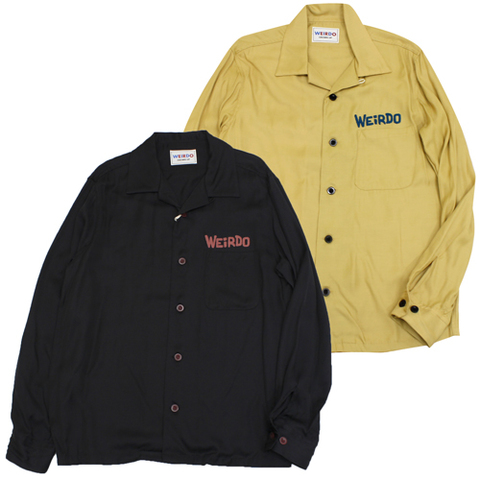 weirdo 18AW21 MONSTERS-L/S SHIRTS 19800