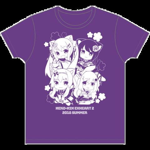 『猫忍えくすはーと2』オリジナルTシャツ(フリーサイズ)