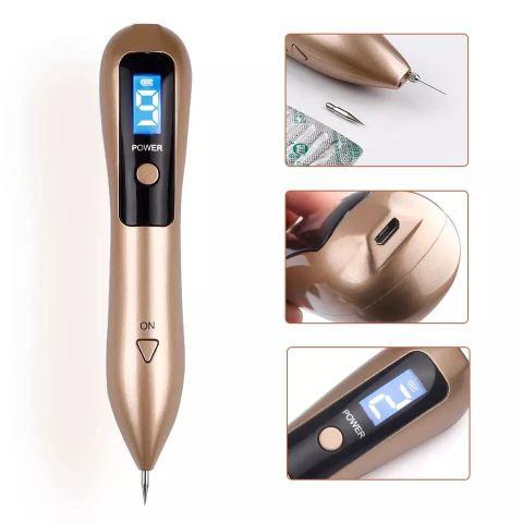 【送料込】シミ ほくろ TATOO除去 充電式プラズマペン/レーザーペン スポットペン