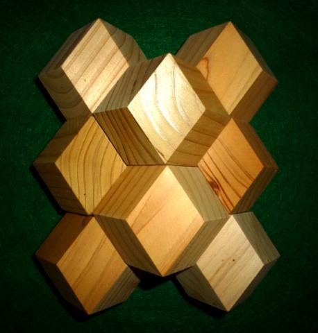 菱形12面体充填セット