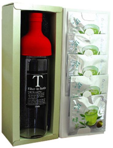 冷やし緑茶とフィルターインボトルの詰め合わせ10g×5個