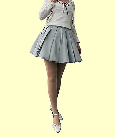広がるプリーツスカートの型紙【委託品】※ポイント利用不可