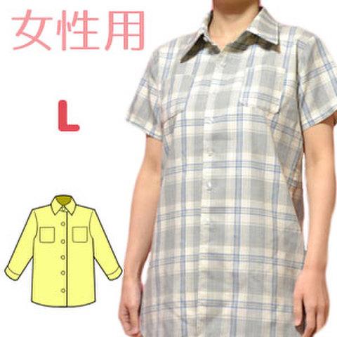 Yシャツの型紙 婦人Lサイズ
