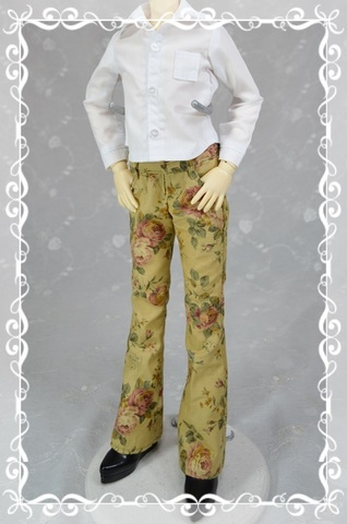 ■ブーツカットパンツの型紙【委託商品】 2503_b