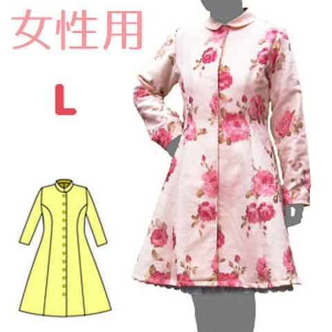 プリンセスラインのコートの型紙 婦人Lサイズ