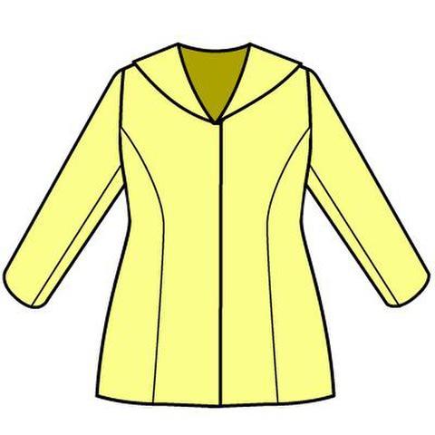 セーラージャケットの型紙 婦人Lサイズ