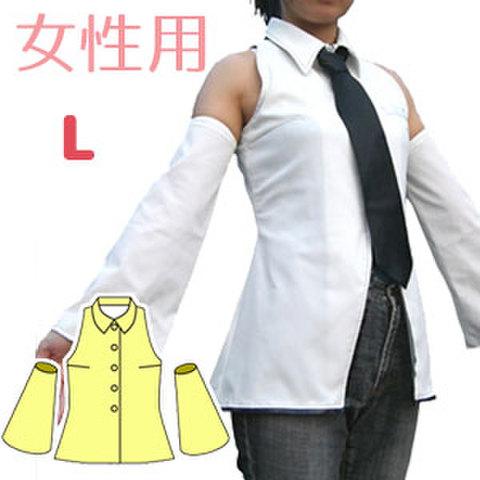 肩出しブラウスの型紙 婦人Lサイズ
