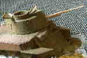 試製三十七粍戦車砲砲身(揺架付き)